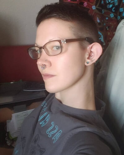 High and Tight Pixie Crew Cut with Undercut