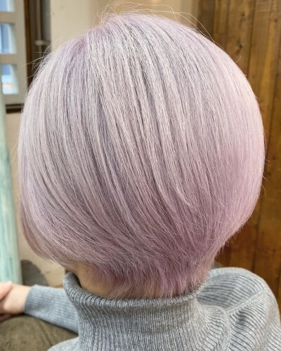 Short Bob with Low Back Layers