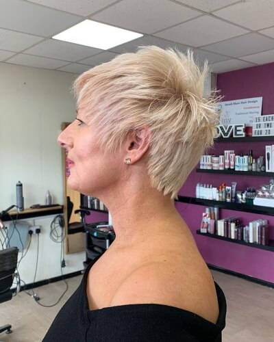 Short Spiky Pixie Haircut