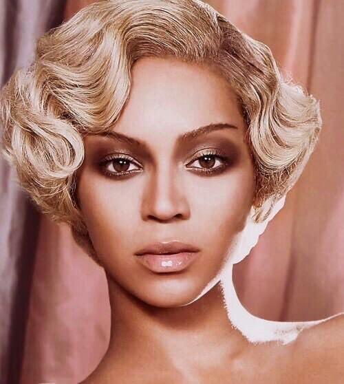Beyoncé Sculpted Short Bob Hairstyle