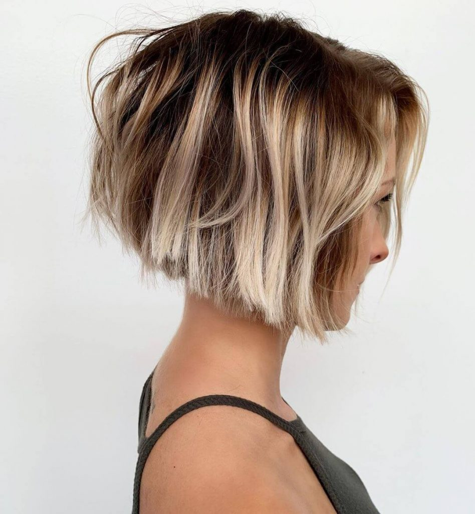 50+ Fashionable Short Hairstyles for Square Faces | Cheeky Locks
