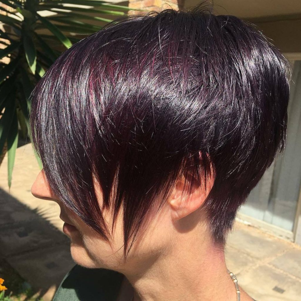 Feather Blade Pixie Cut with for Fine Hair and Round Faces