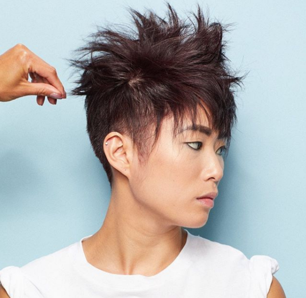 Textured-Pixie-Haircut-for-Asian-Women