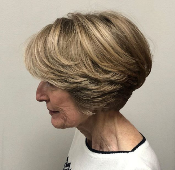 Bowl Cut-Like Hair with Side-Swept Layers