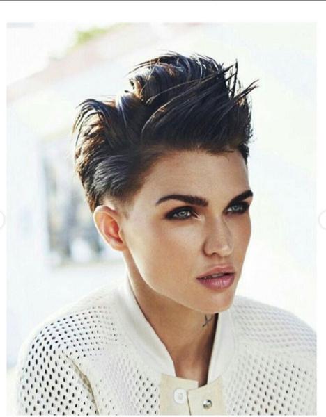 High Rise Short Haircut for Diamond Faces