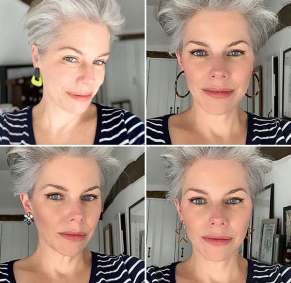 High Rise Short Haircut for Older Women