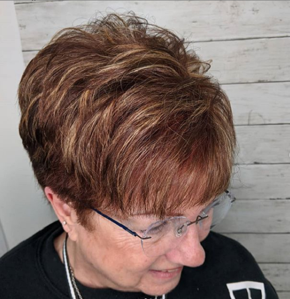 Layered Pixie Cut with Side & Nape Undercut