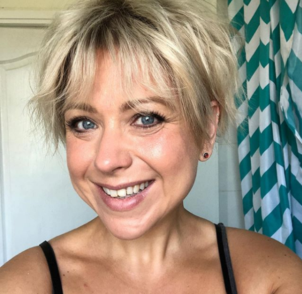 Messy Pixie Haircut with Bangs for Diamond Faces