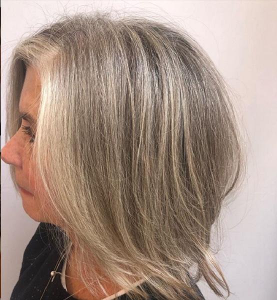 Sleek Side-Parted Medium Haircut