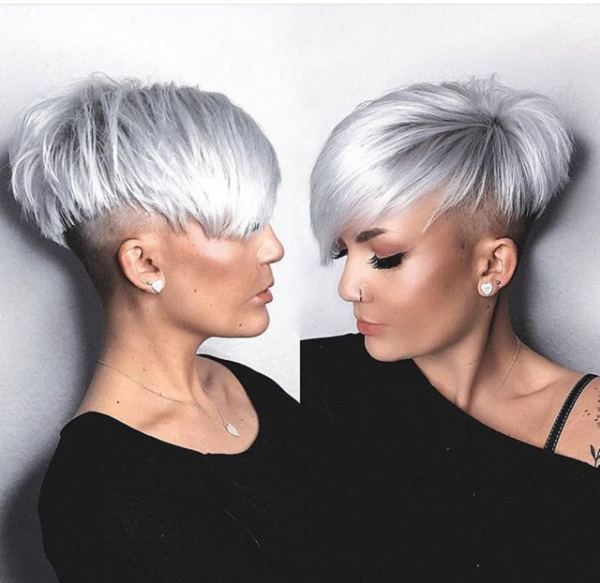Asymmetrical Bowl Cut with Side and Nape Undercut