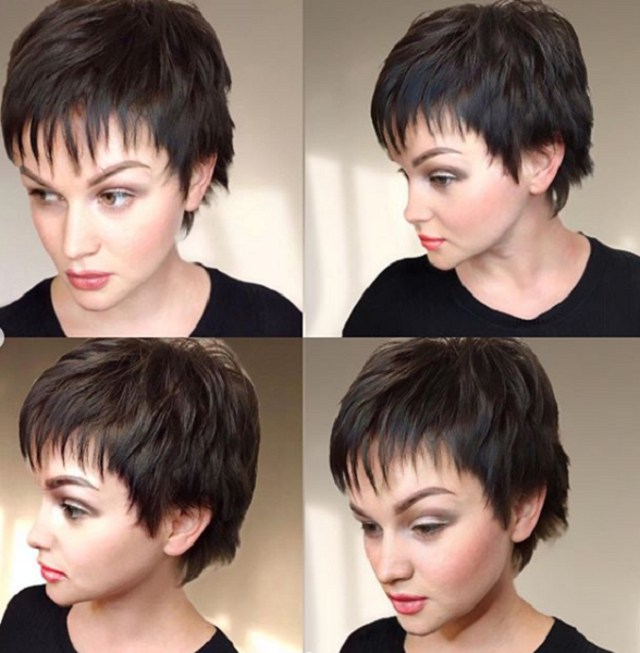 Messy Pixie Cut with Chopped Bangs