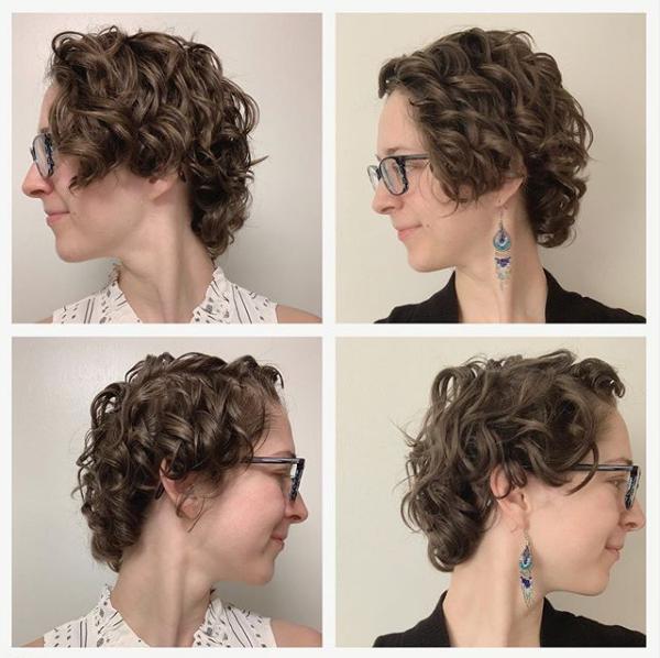 Asymmetrical Wavy Pixie Cut