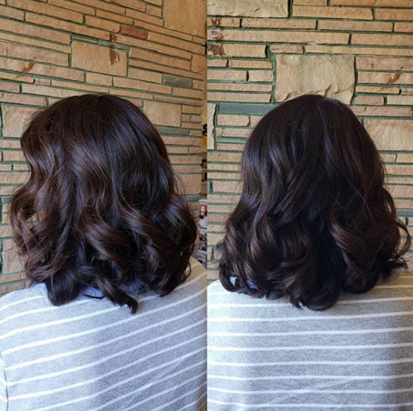 Dark Chocolate Brown Shade with Subtle Highlights