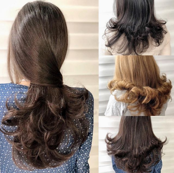 Haircut for Thick Hair with Layered Ends