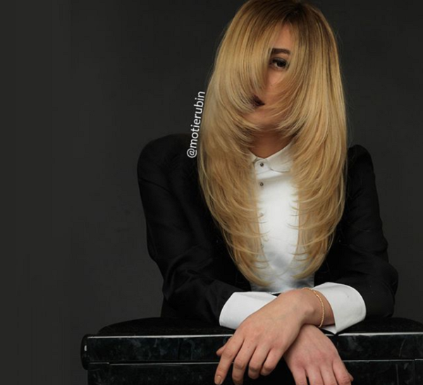 Long Sleek Haircut with Inverted Layers