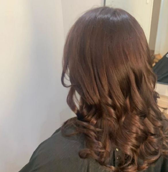 Rich Dark Chocolate Brown Shade with Lighter Hues