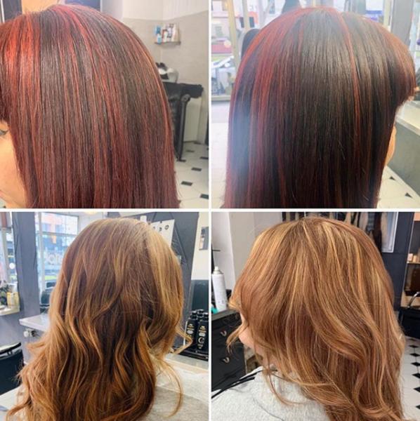 Sleek & Wavy Layered Haircuts (2 styles)