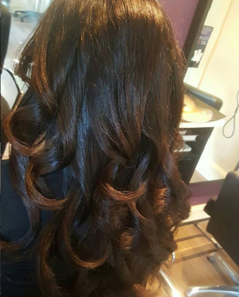 Subtle Ombre on Dark Chocolate Brown Shade