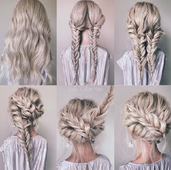 Fishtail Transformative Hairstyles (2 styles)