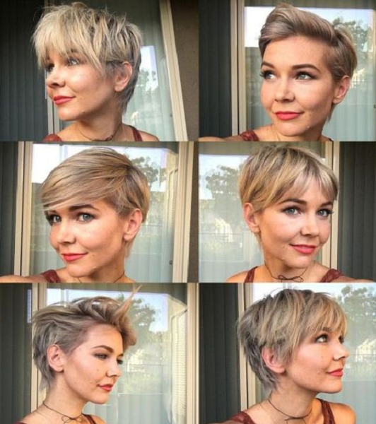 Messy Pixie Cuts (6 styles)