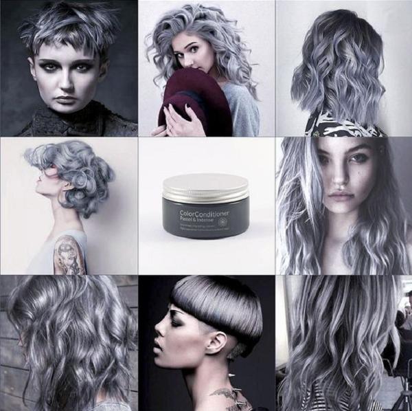 Metallic Silver Hair Color (6 ideas)