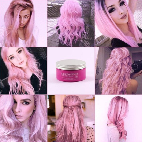 Pastel Cotton Candy Pink (4 ideas)