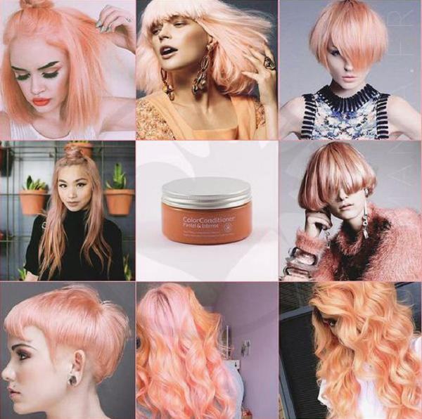 Pastel Peach Hair Color (6 ideas)