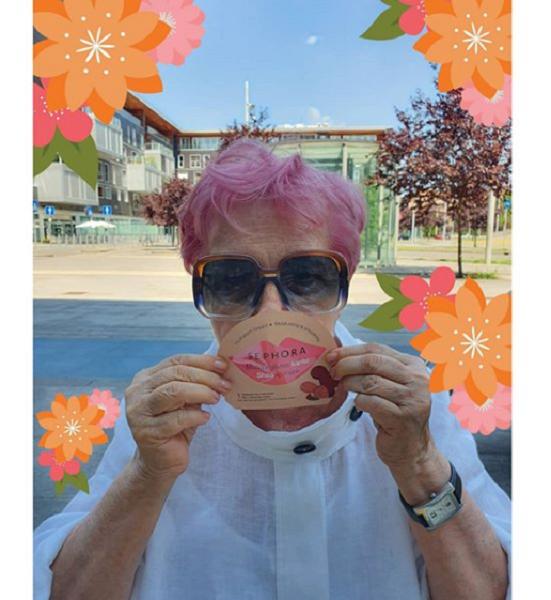 Pink Wavy & Messy Pixie Cut