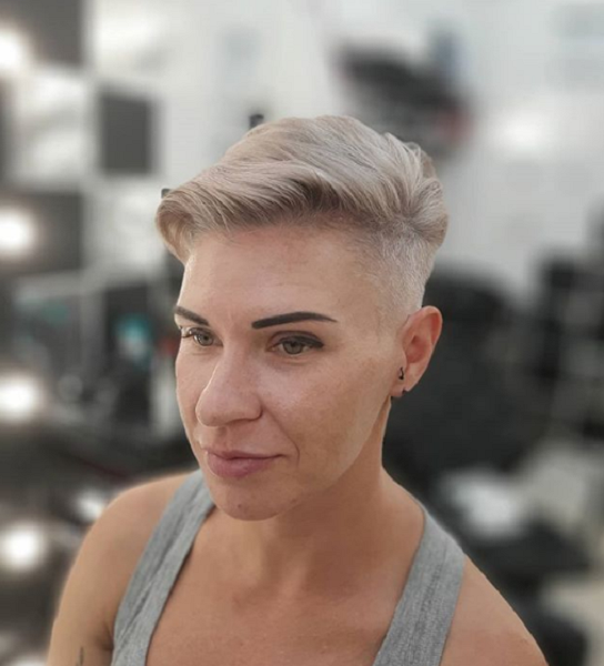 Pixie Cut with Side and Nape Undercut