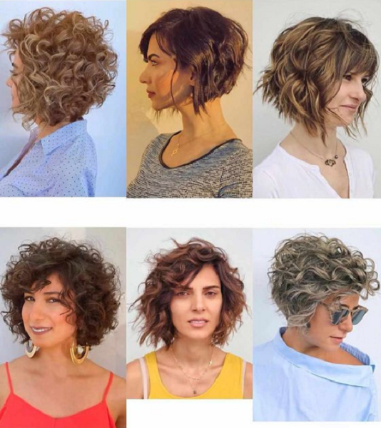 Short Curly & Wavy Lockdown Hairstyles (6 styles)