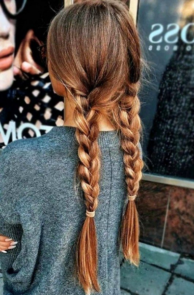 Two Simple Braids
