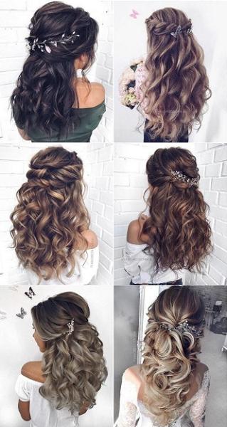 Voluminous Half Up Half Down Hairstyles (6 styles)