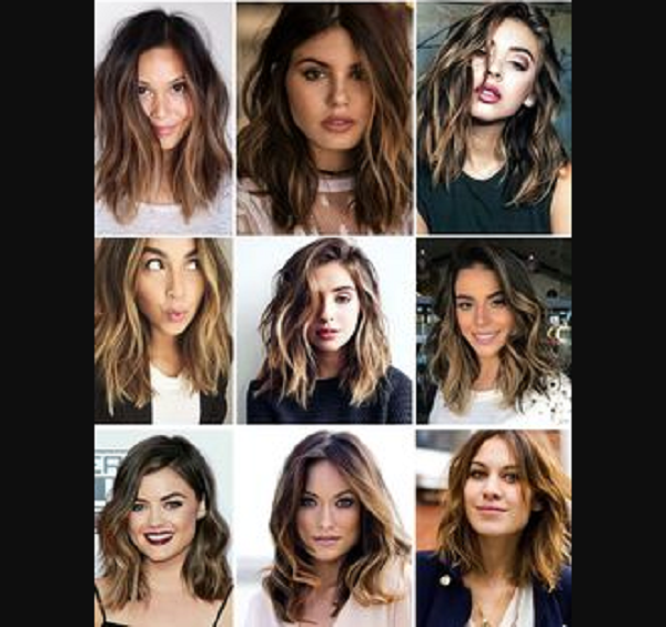 Wavy Medium-Length Layered Hairstyles (9 styles)