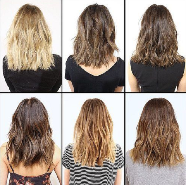 Wavy Medium-Length Layered Hairstyles for Color Inspiration (6 styles)