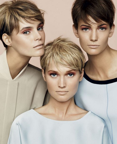 Natural Edgy Feathered Side-Parted Pixie Cuts (3 ideas)