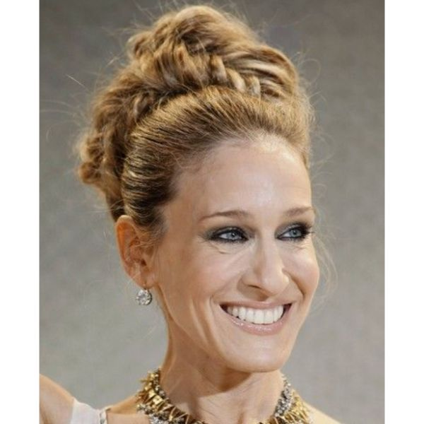 SJP Braided Bun