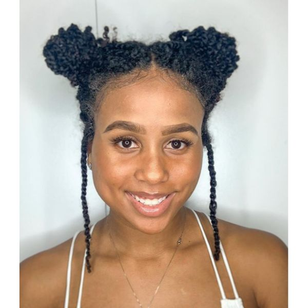Topknots Fall Hairstyle