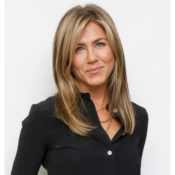 Jennifer Anniston Middle Hair