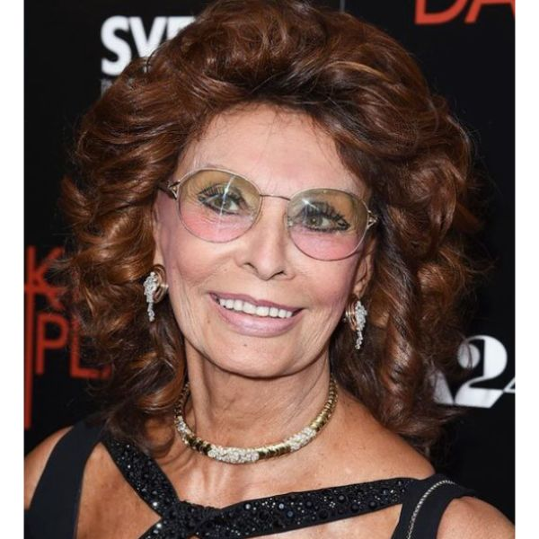 Sophia Loren Medium Hair