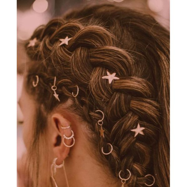 Starry Braided Updo