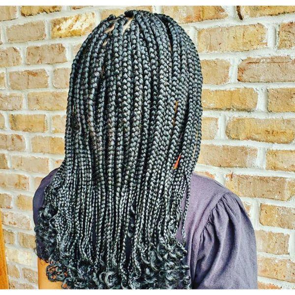 Cornrows Fall Hairstyle