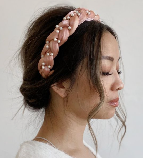 Casual Headband Medium Hair