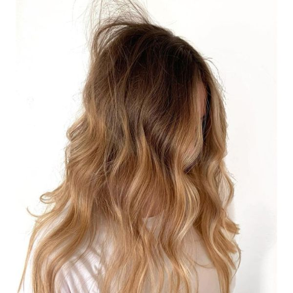 Bed Hair Fall Hairstyle
