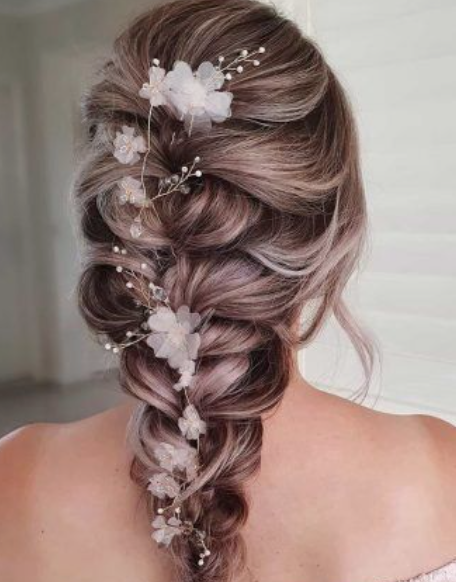 Blooming French Braid