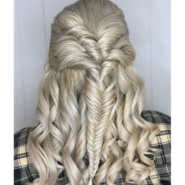 Fantasy Blonde Hair