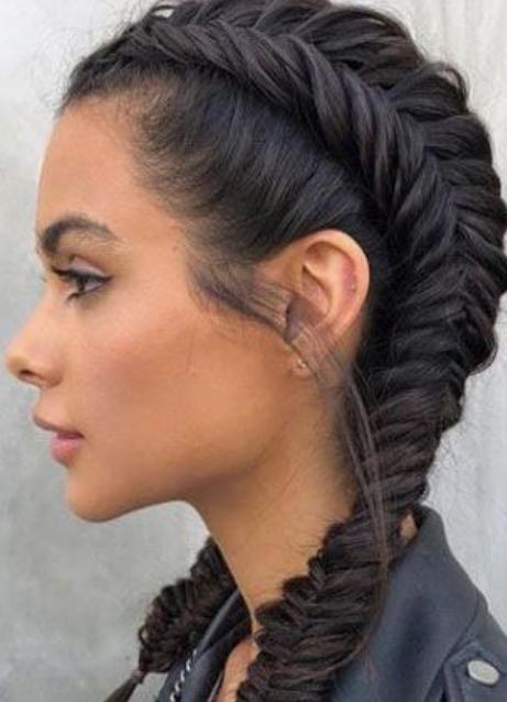 Fishtail Braids Medium Hair
