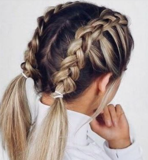 Braids To Pigtails