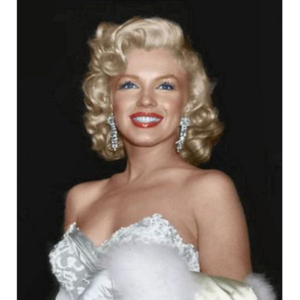 Marilyn Short & Curly Hair