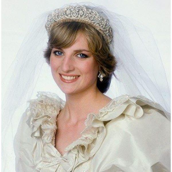 Princess Diana Short Hair