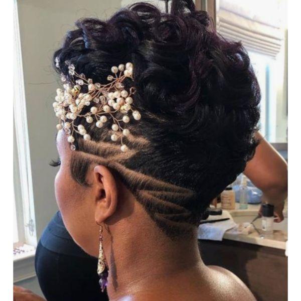 Edgy Undercut Natural Hair